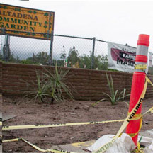 Altadena Heritage supports Altadena Community Garden