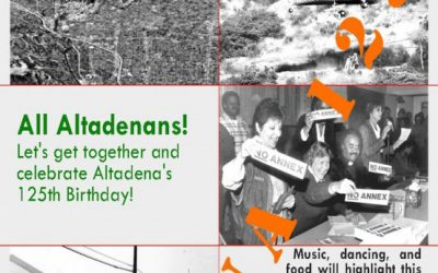 Altadena Is 125 Years Old – 2012