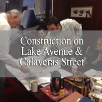 Charles Company Construction on Lake Avenue and Calaveras Street