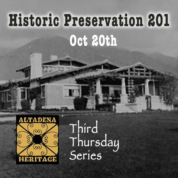Preservation 201