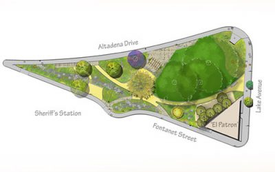 Altadena Triangle Park Groundbreaking