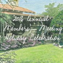 Annual Members' Meeting and Holiday Celebration