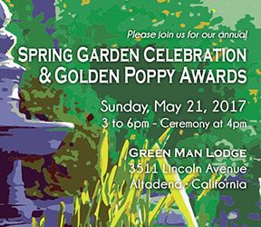 Golden Poppy Celebration – May 21st, 2017