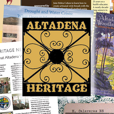 Why Support Altadena Heritage