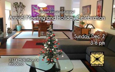 Holiday Celebration – Sunday, Dec. 2