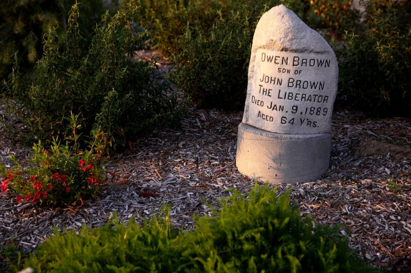 Abolitionist Owen Brown's Altadena grave