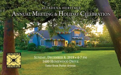 Annual Meeting and Holiday Celebration