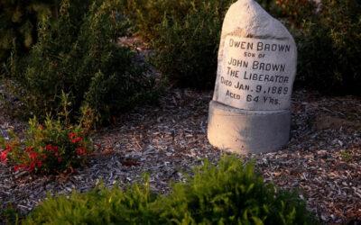 Gravestone of Altadena abolitionist Owen Brown to be reinstalled soon
