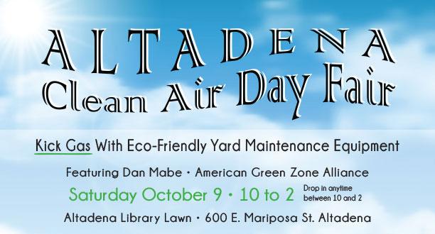 Altadena Clean Air Day Fair